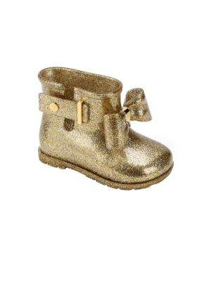 Toddler's & Girl's Sugar Rain Glitter Bow Boots