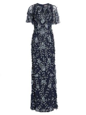 Petal Applique Gown