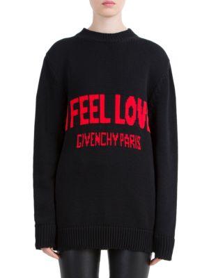 I Feel Love Wool Sweater