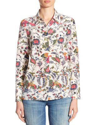 Erica Silk Shirt