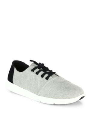 Del Rey Chevron & Herringbone Wool Sneakers