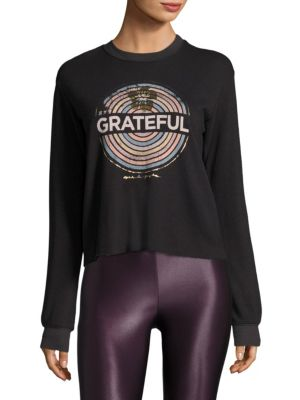 Grateful Sweatshirt by Spiritual Gangster