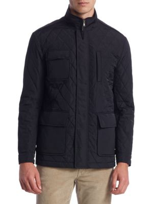 COLLECTION Quilted Car Coat