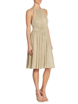 Metallic Textured Dress