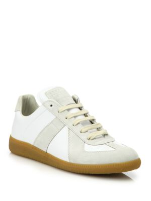 Basic Leather Sneakers