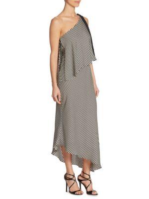 Mini Stripe Flowy Dress