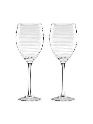 Charlotte Street White Wine Glasses/Set of 2