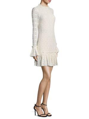 Ivy Long Bell Sleeves Mini Dress