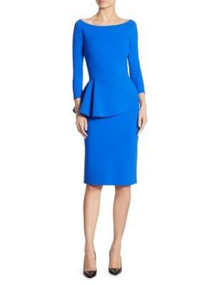 Ligeia Peplum Sheath Dress