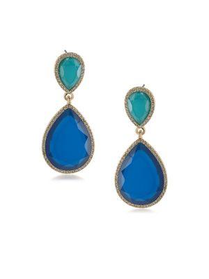 Castaway Linear Drop Pierced Earrings