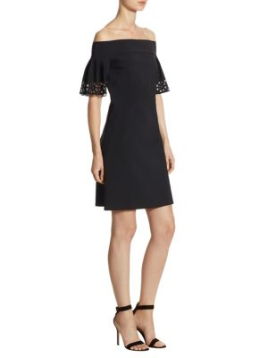 Amica Off-The-Shoulder Dress