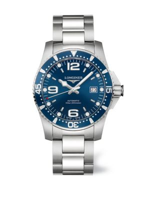 HydroConquest Stainless Steel Automatic Bracelet Watch