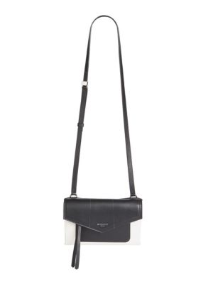 Duetto Two-Tone Leather Crossbody Bag