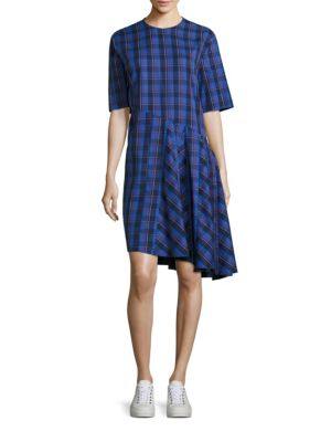 Rima Abia Plaid Dress