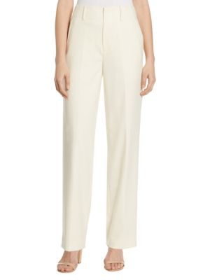 High-Waist Crepe Straight-Leg Pants by Polo Ralph Lauren