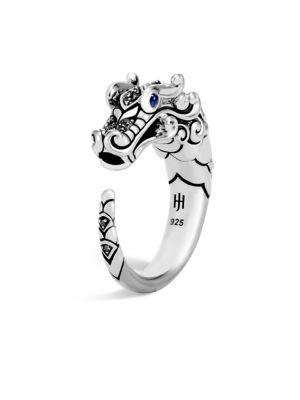 Legends Naga Sapphire & Black Spinel Dragon Ring