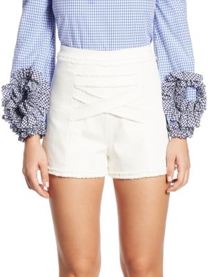 Lilo Cross Front Shorts