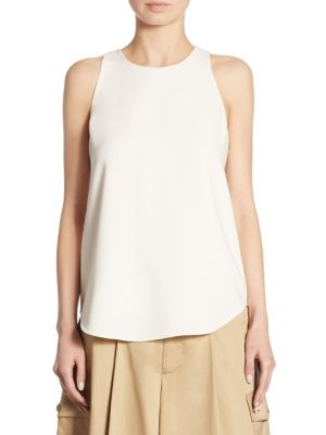 Twill Sleeveless Top