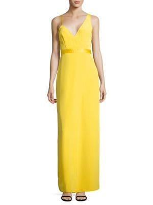 Sleeveless Asymmetrical Side Silk Dress