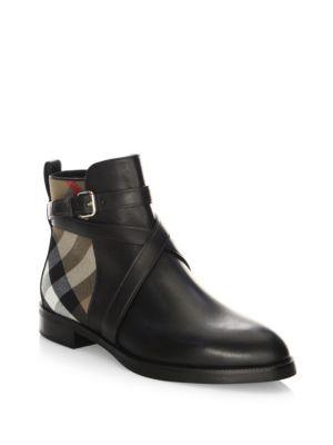 Vaughan Flat Boots