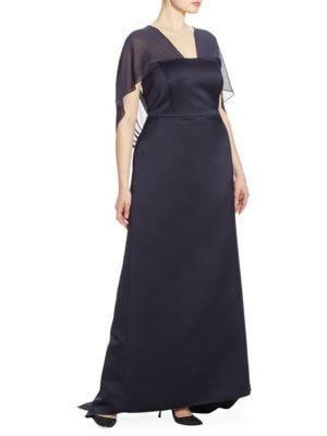 Elegante Depliant Duchess Gown
