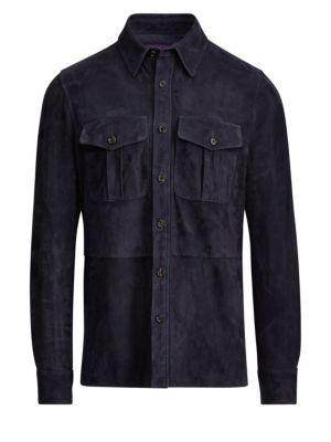 Barron Suede Jacket