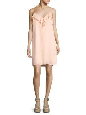 Orchard Ruffled Slip Dress