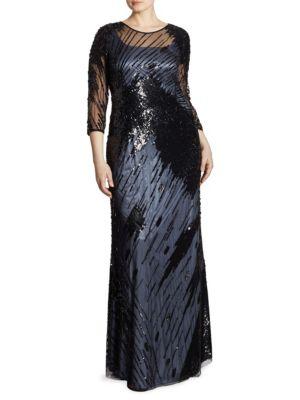 Elegante Diadema Tulle Gown