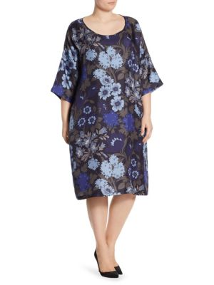 Voyage Delicato Silk Floral Dress
