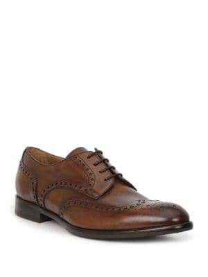 Parma Wing Tip Leather Derbys