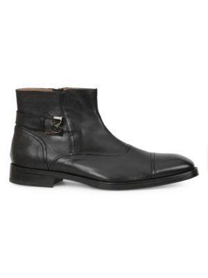 Arcadia Leather Cap Toe Boots