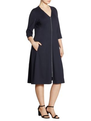 Buy Lafayette 148 New York, Plus Size Rosalie Dress online with Australia wide shipping