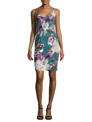 Floral Jevette Sheath Dress