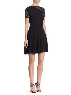 Lace Wool Dress