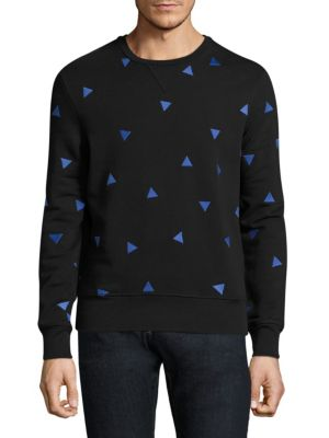 Printed Long Sleeve Sweatshirt