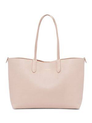 Medium Leather Shopper Tote
