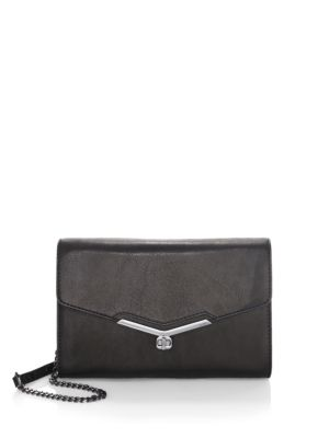 Valentina Leather Convertible Clutch
