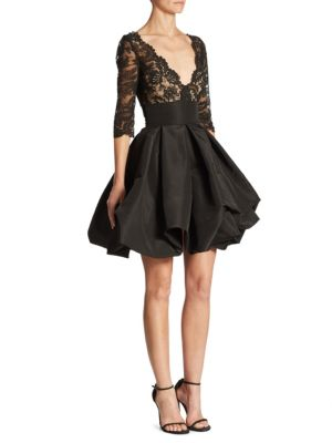 Silk Lace Dress