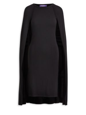 Wool Cape Dress