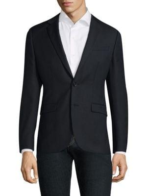 Aston Notch Wool Slim-Fit Sportcoat