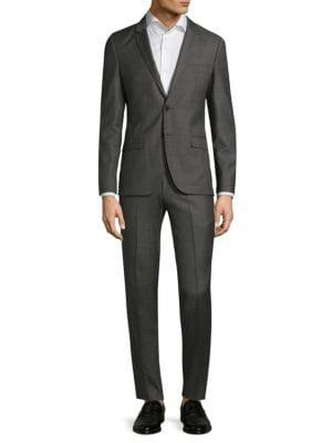 Slim-Fit Hesten Wool Suit
