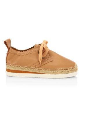 Glyn Leather Espadrille Sneakers