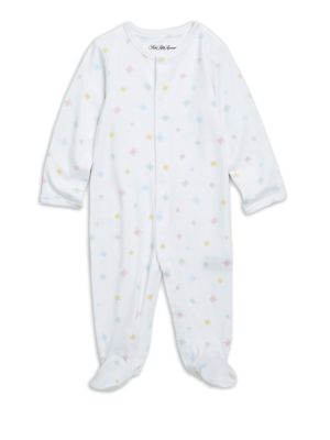 Baby's Long-Sleeve Cotton Footie