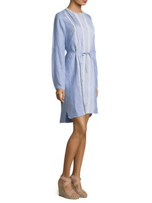 Luca Linen Knee-Length Dress