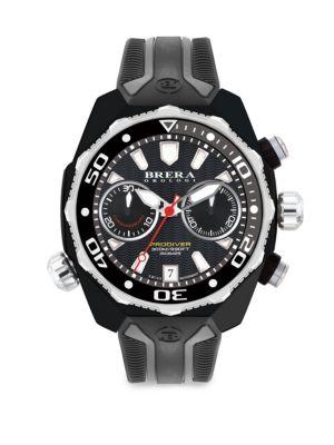 Pro Diver Swiss Quartz Strap Watch