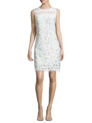 Ramira Printed Scalloped Dress