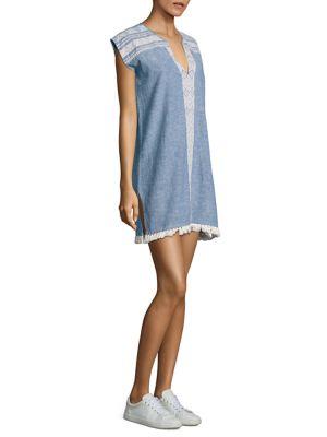 Natalie Chambray Dress