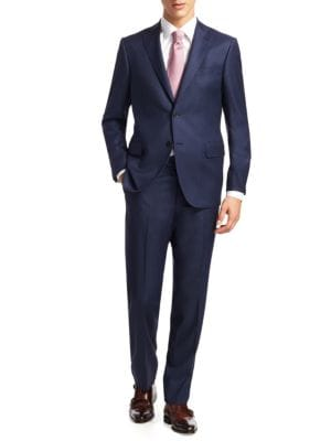 COLLECTION Birdseye Wool Suit