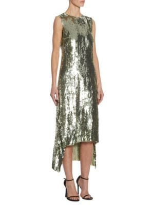 Celia Sequin Shift Dress