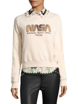 Space Embroidered Sweatshirt by COACH